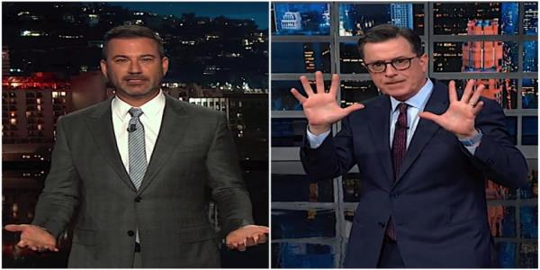 Stephen Colbert and Jimmy Kimmel arent sure how Corey Lewandowski is allowed to stonewall Congress
