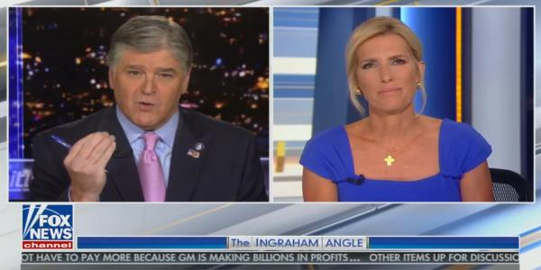 Hannity and Ingraham skip the pleasantries following Tuesdays awkward exchange