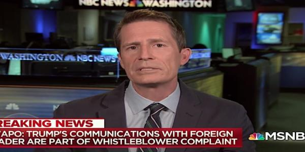 Trumps whistleblower-flagged promise might have been to Putin, Washington Post reporters tell MSNBC