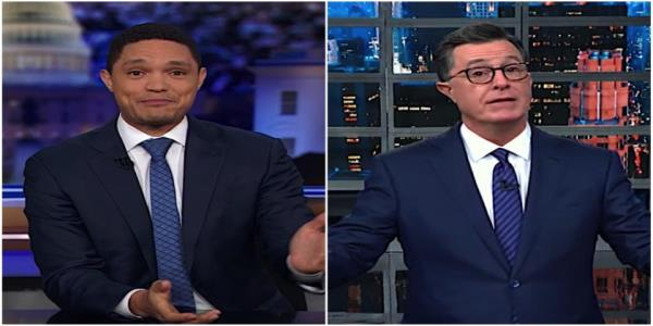 Trevor Noah lists everything wrong with Justin Trudeaus blackface habit. Stephen Colbert sees 1 upside