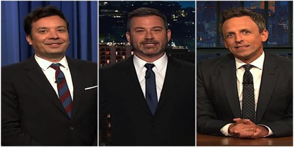 Jimmy Kimmel, Jimmy Fallon, and Seth Meyers unpack the crazy news about Trump, Ukraine, and Joe Biden