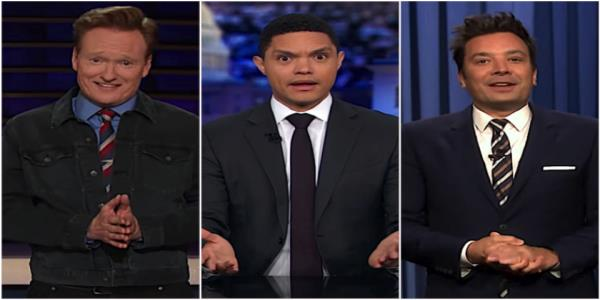 Trevor Noah, Jimmy Fallon, and Conan OBrien ponder if the Ukraine scandal might actually bring down Trump