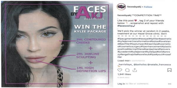 Cosmetic Filler Instagram Ads Featuring Kim Kardashian And Kylie Jenner Have Been Banned