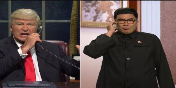 SNLs Trump asks Kim Jong Un for advice on how to handle the whistleblower