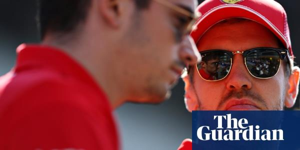 F1: Sebastian Vettel and Charles Leclerc react to Ferrari disobedience – video