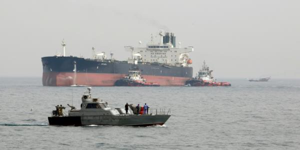 Iran on track to open new oil terminal outside Gulf