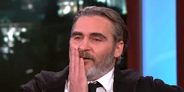 Joaquin Phoenix Gets Awkward After Tense Joker Outtakes During US Talk Show Appearance