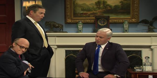 Matthew Broderick portrays Mike Pompeo on SNL, as Trump officials try to figure out how to handle impeachment
