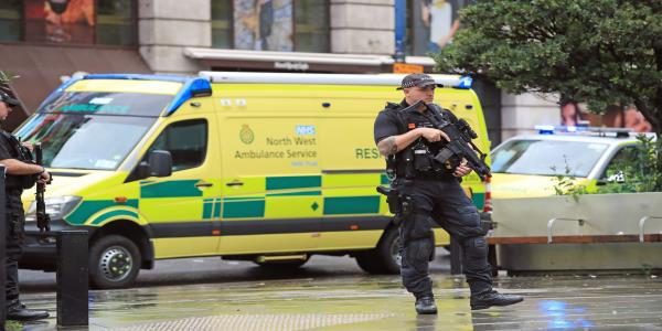 Manchester Stabbing: Man Arrested On Suspicion Of Terror Offences