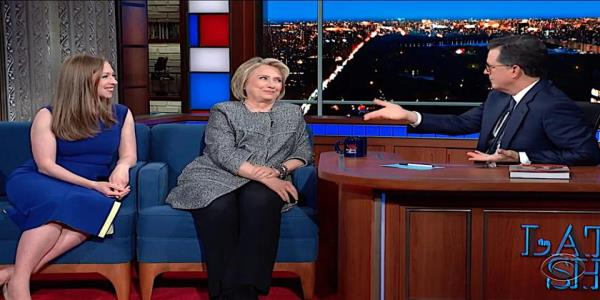 Hillary Clinton tells Stephen Colbert why she supports the Trump impeachment inquiry, zings Giuliani