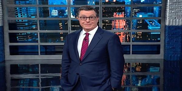 Stephen Colbert chronicles Trumps impeachment meltdown, Finnish president edition