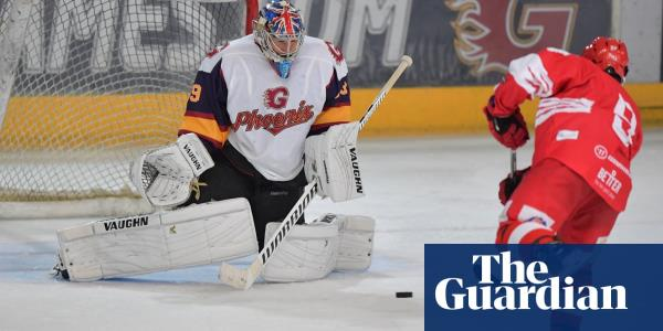 Petr Cech makes ice hockey dream debut with match-winning penalty save – video