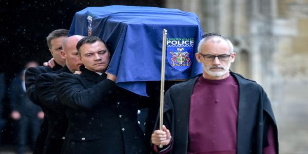 PC Andrew Harper Funeral: Police Line The Streets To Mourn Brave, Genuine And Kind Officer
