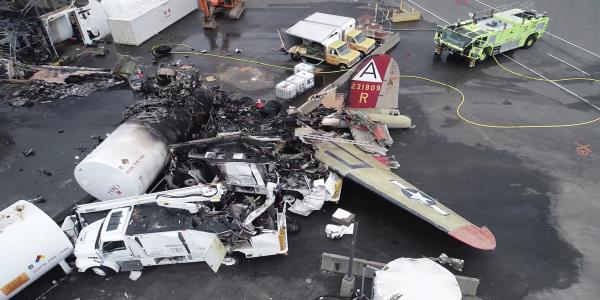 Fuel in fatal B-17 crash wasnt contaminated, report says
