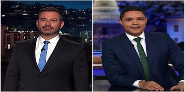 Jimmy Kimmel and Trevor Noah recap the 4th Democratic presidential debate, pick winners and losers