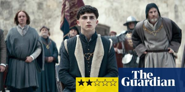 The King review – Timothée Chalamet is all at sea as Prince Hal