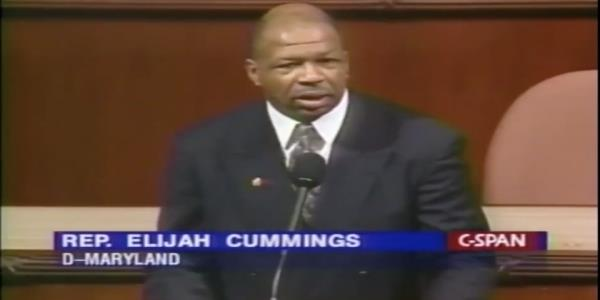 Watch Elijah Cummings powerful 1st House floor speech praising the things we have in common