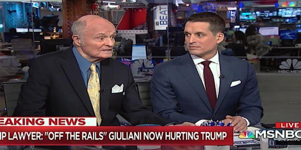 Trumps former personal lawyer says Rudy Giuliani has gone off the rails, has a secret Ukraine ledger
