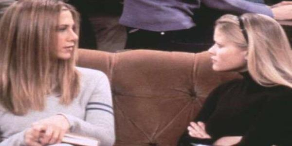 Watch Jennifer Aniston and Reese Witherspoon Re-Create One of Their 'Friends' Scenes (Video)