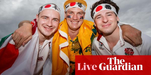 England v Australia: Rugby World Cup 2019, quarter-final – live!