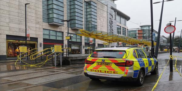 Suspect Arrested After Reports Of Man With Knife In Manchesters Arndale Shopping Centre