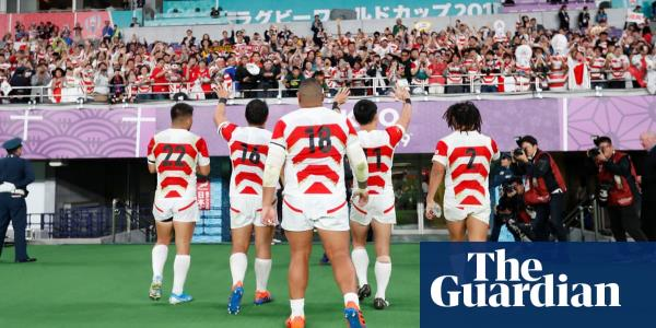 Everyone's a fan now: Japan brims with pride after hosts exit World Cup | Justin McCurry