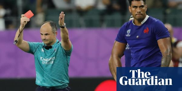 Referee Jaco Peyper snubbed for Rugby World Cup semi-final after photo row