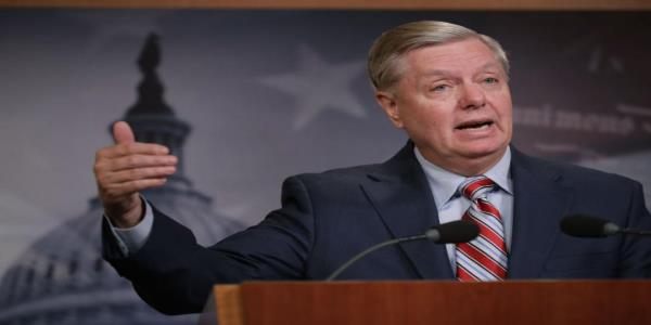Kevin McCarthy and Tim Scott distance themselves from Trumps lynching comparison. Lindsey Graham backs it