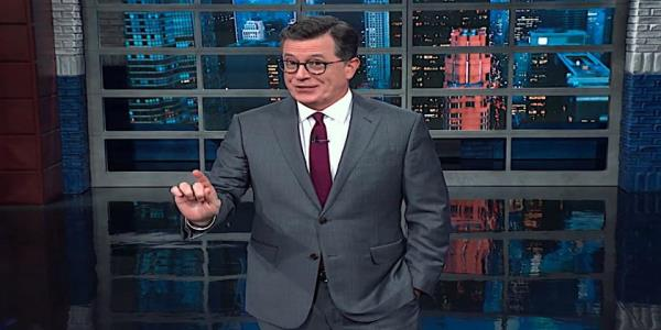 Stephen Colbert weighs U.S. diplomat William Taylors Ukraine testimony against Trump, finds it damning