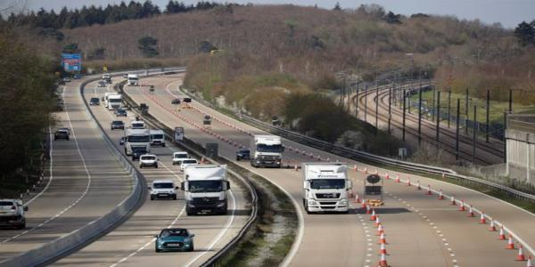 Nine People Found In Back Of Lorry On M20 Motorway, Kent Police Says