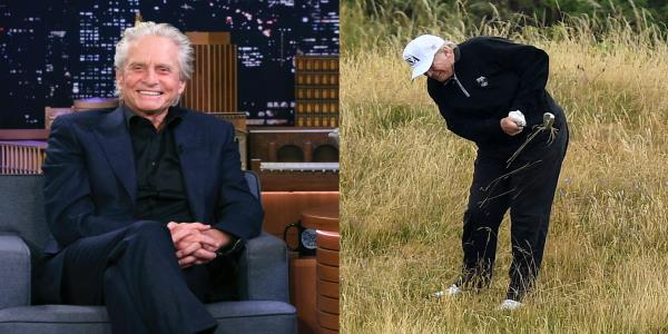 Michael Douglas on Trumps golf game: Not quite as good as he thinks he is