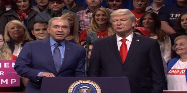 Fred Armisen returns to SNL as Trumps new pal Erdogan