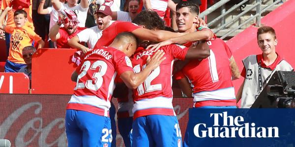 European roundup: Minnows Granada go top of La Liga after Real Betis win
