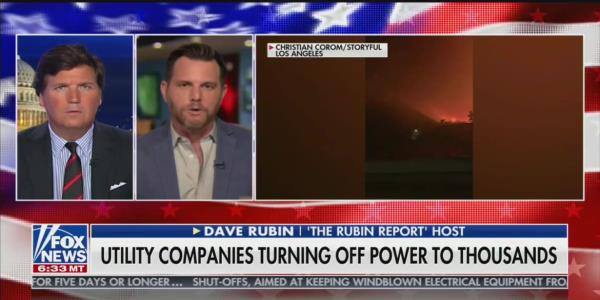 Tucker Carlson and Guest Blame Diversity and 'Woke' Culture for California Fires