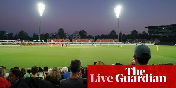 Australia v Pakistan: second Twenty20 international – live!