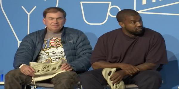 Kanye West awkwardly asks crowd what yall laughing at while describing plans to run for president