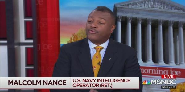 MSNBC's Malcolm Nance: Trump Was on the Russians' Radar as 'Early as 1977'