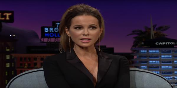 Kate Beckinsale says her first kiss was horrible