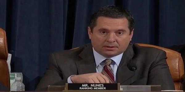 Devin Nunes tries and fails to get Lt. Col. Vindman to out the whistleblower