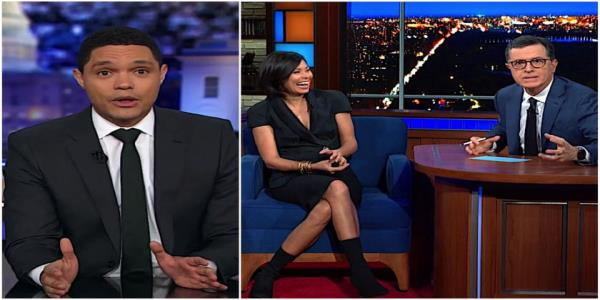 Stephen Colbert and Trevor Noahs Daily Show picks some winners and a loser of the 5th Democratic debate