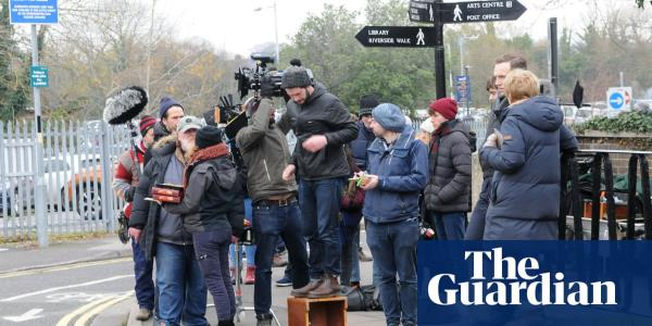BBC crew shoot novichok poisoning drama in Salisbury