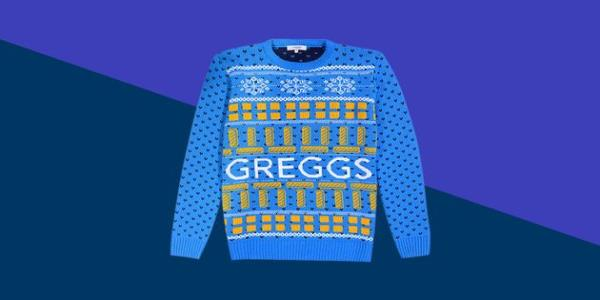 Greggs Vegan Sausage Roll Christmas Jumper Is Peak 2019