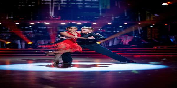 Strictlys Alex Scott Suffers Major Wardrobe Malfunction After Getting Stuck To Partner Neil Jones During Argentine Tango Routine
