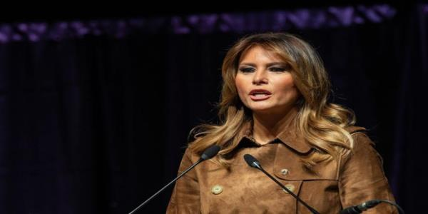 Melania Trump booed throughout speech at Baltimore youth summit
