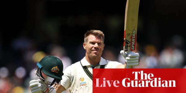 Australia v Pakistan: second Test, day two – live!