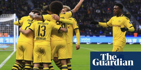 Dortmund condemn Jürgen Klinsmann to defeat on Hertha Berlin bow