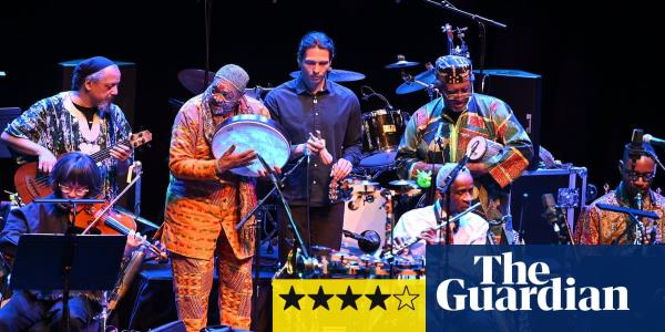 Art Ensemble of Chicago review – still free and funky after 50 years