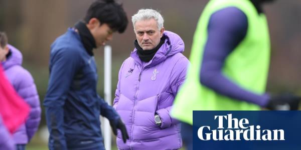 Mourinho tells Tottenham players he wants them raging not sad in defeat