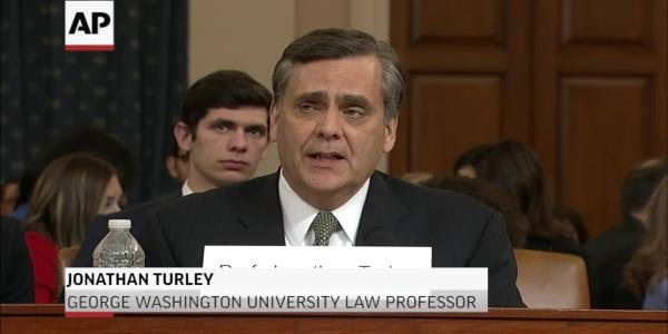 Anti-impeachment witness, Jonathan Turley, says he has received threats since hearing