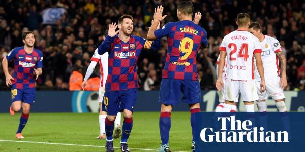 La Liga roundup: Messi masterclass puts Barcelona back on top after Madrid win